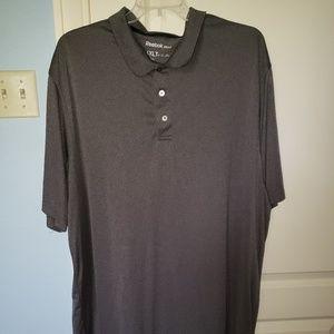 Mens Dark Gray Reebok Golf Polo - size 4XLT